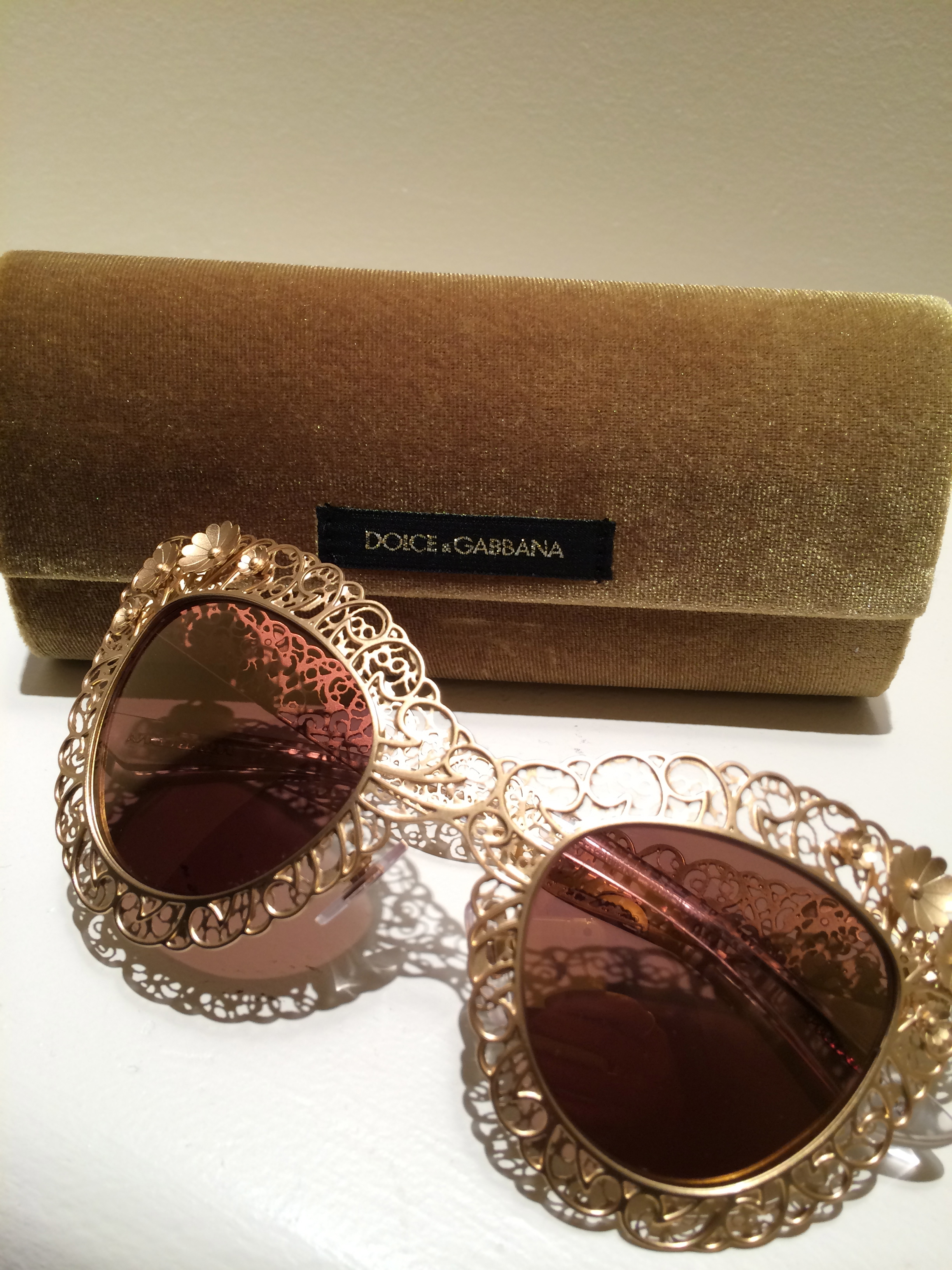 Dolce & Gabbana Cat Eye Frames